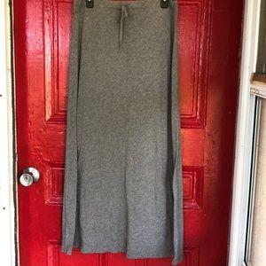 Eddie Bauer cotton maxi skirt